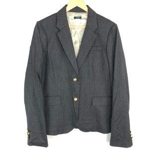 J Crew Tall Wool Schoolboy Blazer